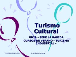 Turismo Cultural - Universidad de Huelva