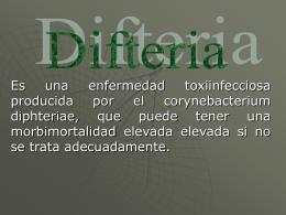 Difteria - BERNARDOMOLINARESCAMARGO
