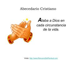 ABECEDARIO CRISTIANO - Renuevo De Plenitud