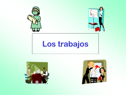 Los trabajos - Languages Resources