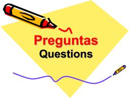 Preguntas - Montville Township Public Schools / Overview