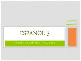 Espanol 3 Haga Ahora
