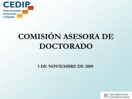 Estudios propios de la Universidad de Alicante