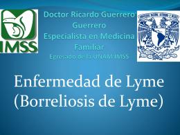 Doctor Ricardo Guerrero Guerrero Especialista en Medicina