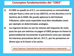 Impuesto sobre la renta para la equidad (CREE)