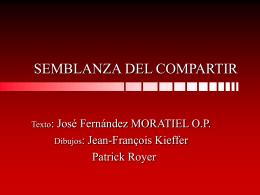 SEMBLANZA DEL COMPARTIR - Dominicos