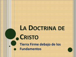 La Doctrina de Cristo