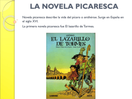 LA NOVELA PICARESCA - Juglarmoderno's Blog | Just …