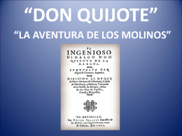 DON QUIJOTE""