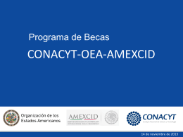 Insertar texto aqui - OAS :: Department of Conferences …