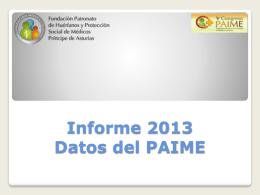 Datos Administrativos 2012