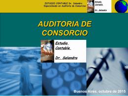 curriculum - Auditorias de Consorcios