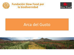 Arca del Gusto