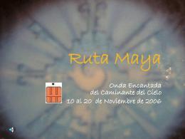 Memorias de Viaje - || CHAMANISMO TOLTECA