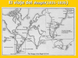 El viaje del Beagle(1831