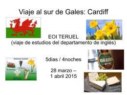 Viaje al sur de Gales: Cardiff