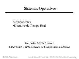 Sistemas Operativos: Componentes