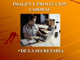 IMAGEN Y PROYECCION LABORAL