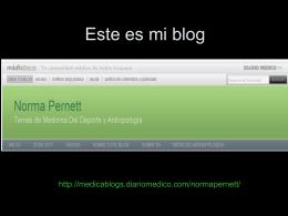 Este es mi blog
