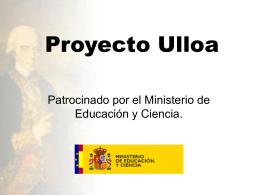 Proyecto Ulloa