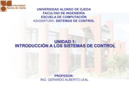 Diapositiva 1 - Ing. Gerardo Alberto Leal, MSc | Sitio