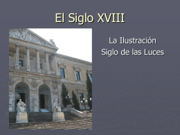 El Siglo XVIII - www4.gvsu.edu