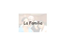 La Famille - Mr. Schepisi