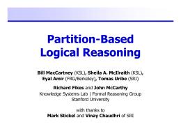 PBLR Presentation - Stanford University