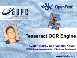 Presentation - Svetlin Nakov