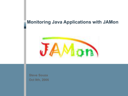 Monitoring - JAMon - Documentation