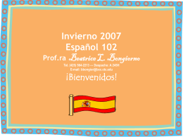 2006-2007 School Year Calendar