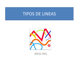 TIPOS DE LINEAS - SchoolWorld an Edline Solution