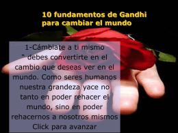 LAS DIEZ VERDADES DE GANDHI