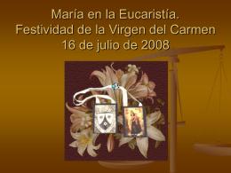 Los diez remos de la Virgen del Carmen