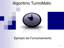 Algoritmo TurnoMatic