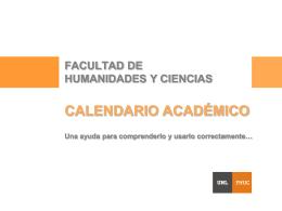 Diapositiva 1 - Facultad de Humanidades y Ciencias