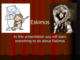 Eskimos  - Marina View School