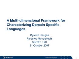 IN-MMO - DSM Forum