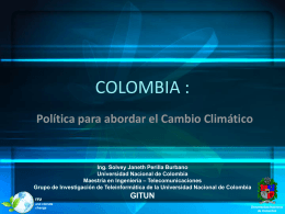 COLOMBIA - ITU: Committed to connecting the world