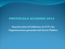 PROTOCOLO ACUERDO 2014