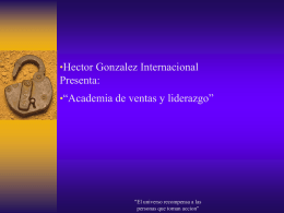 Hector Gonzalez International