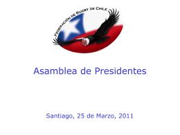"""El Desarrollo del Rugby en Chile """" El camino de lo social"""