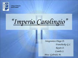Imperio Carolingio - BLOGS DE ASIGNATURAS TRUMBULL