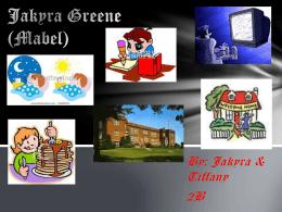 Jakyra Greene