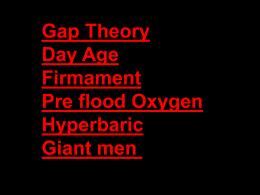Part 1b - creationism