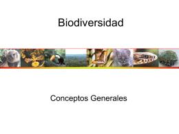 Biodiversidad Global: - CursodeEcologiaFacen