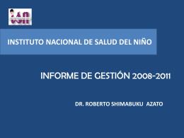 ESTRATEGIA SANITARIA NACIONAL DE PREVENCION Y …