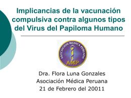 Incertidumbres acerca de la vacuna contra VPH