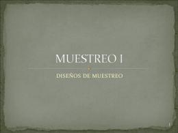 MUESTREO I