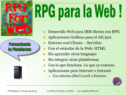 RPG For Web
